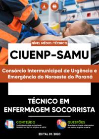Técnico em Enfermagem Socorrista - CIUENP - SAMU