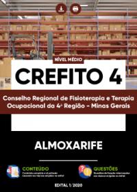 Almoxarife - CREFITO 4