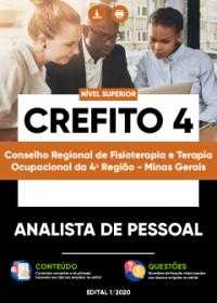 Analista de Pessoal - CREFITO 4