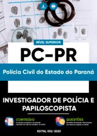 Investigador de Polícia e Papiloscopista - PC-PR