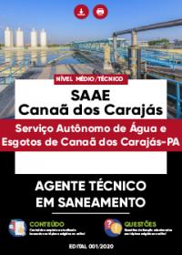 Agente Técnico em Saneamento - SAAE de Canaã dos Carajás