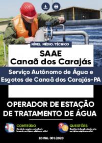 Operador de Estação de Tratamento de Água - SAAE de Canaã dos Carajás