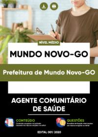 Agente Comunitário de Saúde - Prefeitura de Mundo Novo-GO