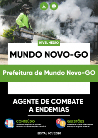 Agente de Combate a Endemias - Prefeitura de Mundo Novo-GO