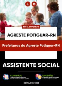Assistente Social - Prefeituras do Agreste Potiguar-RN