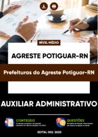 Auxiliar Administrativo - Prefeituras do Agreste Potiguar-RN