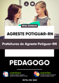 Pedagogo - Prefeituras do Agreste Potiguar-RN