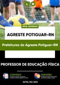 Professor de Educação Física - Prefeituras do Agreste Potiguar-RN