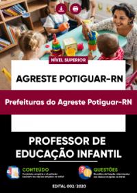 Professor de Educação Infantil - Prefeituras do Agreste Potiguar-RN