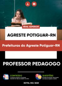Professor Pedagogo - Prefeituras do Agreste Potiguar-RN