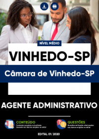 Agente Administrativo - Câmara de Vinhedo-SP