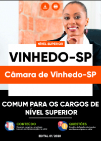 Comum para os Cargos de Nível Superior - Câmara de Vinhedo-SP
