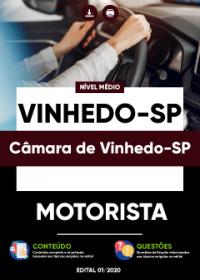 Motorista - Câmara de Vinhedo-SP