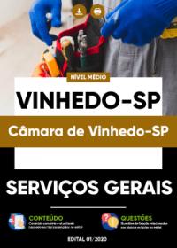 Serviços Gerais - Câmara de Vinhedo-SP