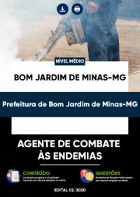Agente de Combate às Endemias - Prefeitura de Bom Jardim de Minas-MG