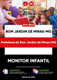 Monitor Infantil - Prefeitura de Bom Jardim de Minas-MG