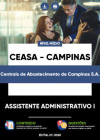 Assistente Administrativo I - CEASA - CAMPINAS