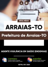 Agente Vigilância em Saúde (Endemias) - Prefeitura de Arraias-TO