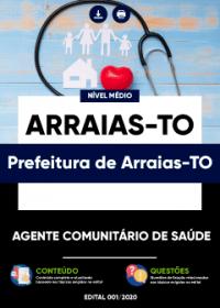 Agente Comunitário de Saúde - Prefeitura de Arraias-TO