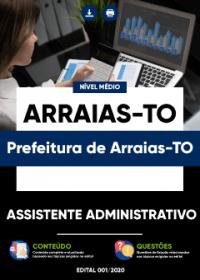Assistente Administrativo - Prefeitura de Arraias-TO