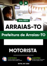 Motorista - Prefeitura de Arraias-TO