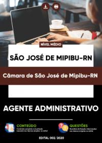 Agente Administrativo - Câmara de São José de Mipibu-RN