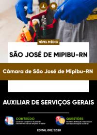 Auxiliar de Serviços Gerais - Câmara de São José de Mipibu-RN