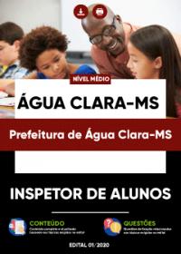 Inspetor de Alunos - Prefeitura de Água Clara-MS