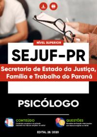Psicólogo - SEJUF-PR