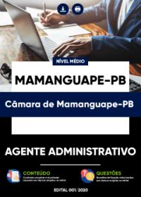 Agente Administrativo - Câmara de Mamanguape-PB