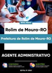 Agente Administrativo - Prefeitura de Rolim de Moura-RO