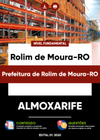 Almoxarife - Prefeitura de Rolim de Moura-RO