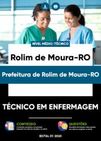 Técnico em Enfermagem - Prefeitura de Rolim de Moura-RO