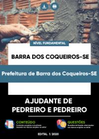 Ajudante de Pedreiro e Pedreiro - Prefeitura de Barra dos Coqueiros-SE