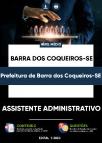 Assistente Administrativo - Prefeitura de Barra dos Coqueiros-SE
