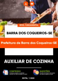 Auxiliar de Cozinha - Prefeitura de Barra dos Coqueiros-SE