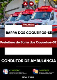 Condutor de Ambulância - Prefeitura de Barra dos Coqueiros-SE