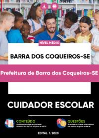 Cuidador Escolar - Prefeitura de Barra dos Coqueiros-SE