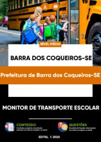 Monitor de Transporte Escolar - Prefeitura de Barra dos Coqueiros-SE