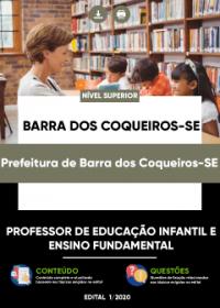 PEB - Prof. de Educação Infantil e Fundamental - Pref. de Barra dos Coqueiros-SE