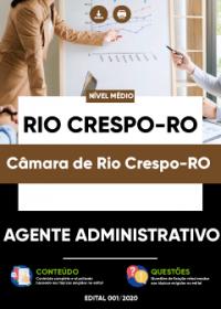 Agente Administrativo - Câmara de Rio Crespo-RO