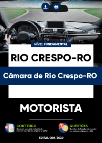 Motorista - Câmara de Rio Crespo-RO