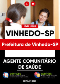 Agente Comunitário de Saúde - Prefeitura de Vinhedo-SP