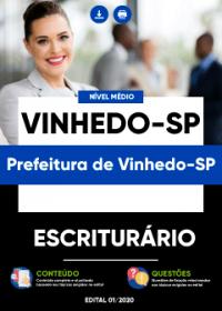 Escriturário - Prefeitura de Vinhedo-SP