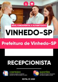 Recepcionista - Prefeitura de Vinhedo-SP