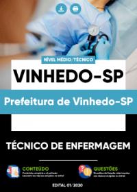 Técnico de Enfermagem - Prefeitura de Vinhedo-SP
