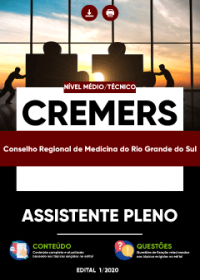 Assistente Pleno - CREMERS