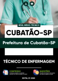 Técnico de Enfermagem - Prefeitura de Cubatão-SP