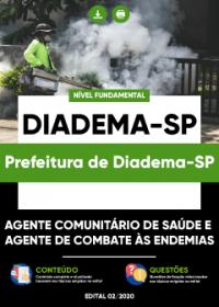 Agente Comunitário de Saúde e Agente de Endemias - Prefeitura de Diadema-SP
