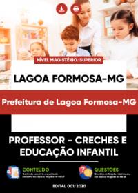 Professor - Creches e Educação Infantil - Prefeitura de Lagoa Formosa-MG
